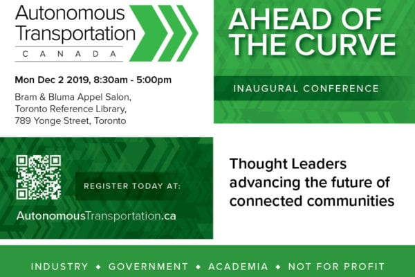 Inaugural Conference, Ahead of the Curve, Being Planned for Dec. 2, 2019 5