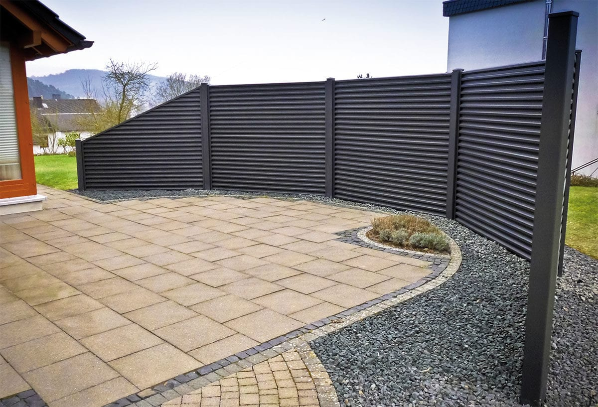 How to create sloped fences 3
