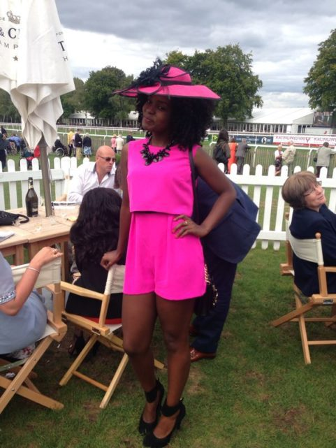 Horse racing amazing hats for hire