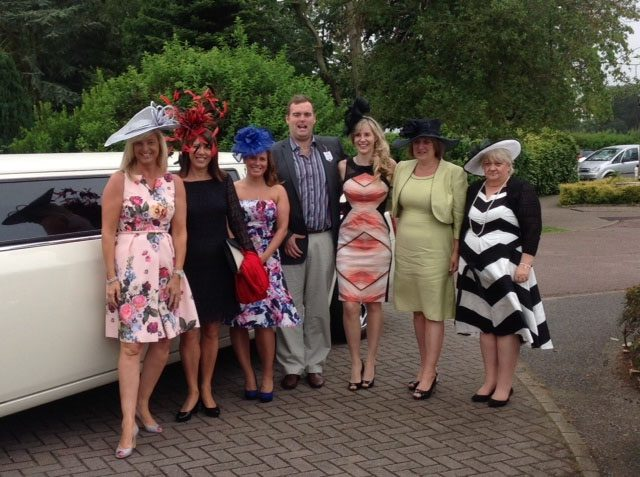 our hats at newmarket races